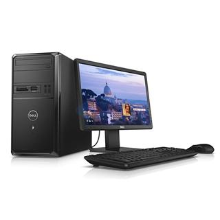 戴尔 (DELL)Vostro 3900-R6198M 台式电脑 (赛扬G1840 4G 500G 18.5显示器 DVDRW 三年保修 WIN7)