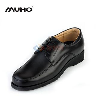 牧澳  新款商务正装皮鞋男士休闲时尚潮流行大码真皮皮鞋