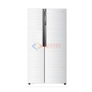 海尔(Haier) BCD-521WDPW 521升 对开门冰箱 白色 风冷无霜 静音设计 大容量 保鲜抗菌