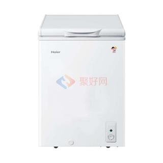 海尔(Haier) BC/BD-103D 103升 家用单温一室 冷冻冷藏随心转换 卧式冷柜 冰柜
