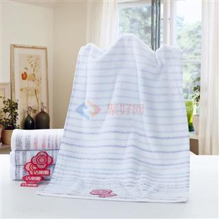 【活动】洁丽雅毛巾 横条柔软毛巾34*74 2条装/4条装