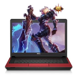 【年货单品】戴尔(DELL)Ins14PR-4548R 14.0英寸高清游戏笔记本电脑(i5-4210H 4G 500G GTX 950M 4G独显 DVD Win10)红