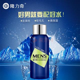 隆力奇150ml男士酷润醒肤劲能水 补水保湿护肤品滋润爽肤水
