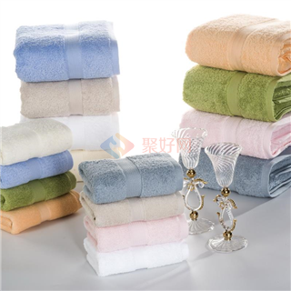 叠丰 Baihuamj超强吸水超柔长绒棉毛巾34*74三条装/四条装