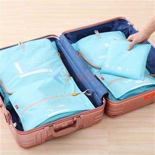 爱彼此(ABS)  Olin欧林轻包客系列旅行收纳袋6件组