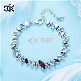 CDE/西黛尔采用施华洛世奇元素简约浪漫韩版手链