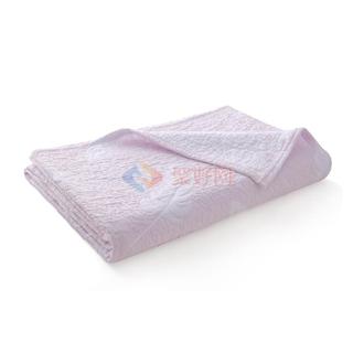 ABS(爱彼此)Pattie全棉空气层透气柔软家居毯