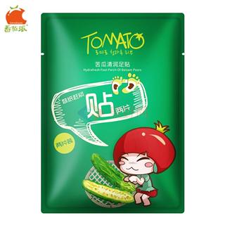 番茄派-苦瓜清润足贴  10袋装