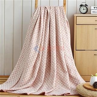 叠丰 Baihuamj纯棉毛巾被水洗纱布盖毯透气环保 迷宫格/复古大格