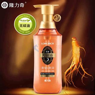 隆力奇500ml氨基酸红参损伤修护洗发水
