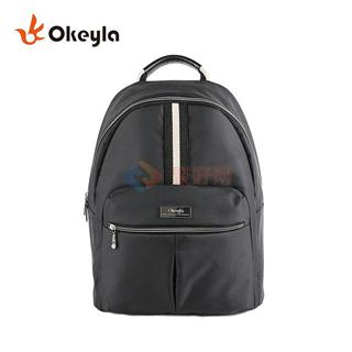 okeyla 潮款黑色双肩背包 OKB-1046