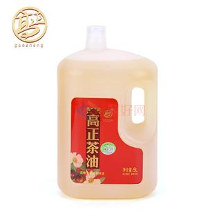 高正茶油 茶籽油茶油食用油天然山茶油5L桶装 低温物理压榨一级