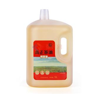 高正茶油野生山茶油天然食用油5l包邮纯野山茶油茶籽茶树油植物油