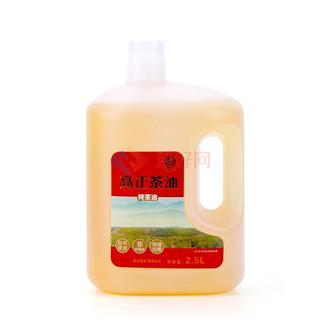 高正茶油食用油山茶油2.5L茶籽油 农家野山茶油物理压榨一级包邮