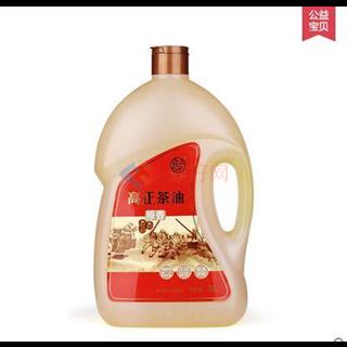 高正茶油 茶籽油茶油食用油天然山茶油3L桶装 低温物理压榨一级