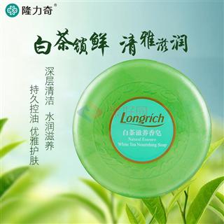 隆力奇100g白茶滋养香皂