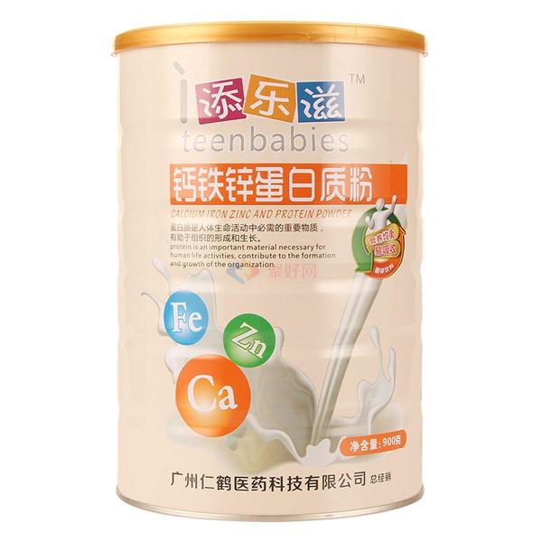 添乐滋 钙铁锌蛋白质粉900g