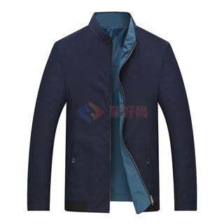 春季新款男士商务休闲时尚爆款双面穿夹克