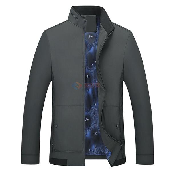 2018新款男装 春季男士时尚夹克衫 爆款纯色男士夹克外套