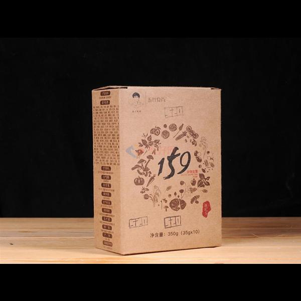 五谷食尚 159全素谷物代餐粉 350g/盒 10包装  49.9元/盒  包邮 【满三盒赠一盒,满五盒赠两盒】  【新疆,西藏,青海等偏远地区拍后联系运费】