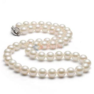 纯天然淡水珍珠项链 气质百搭 色白圆润φ9-11mm