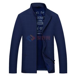 2018春季新款男士时尚爆款修身纯色男款夹克外套