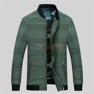 新款中青年男士春季时尚修身显瘦爆款夹克外套
