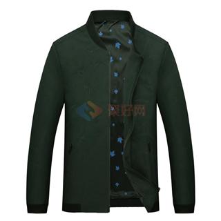2108春季新款中青年男士时尚修身爆款立领外套夹克