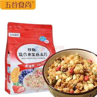 五谷食尚 谷物混合水果燕麦片 800g*1