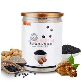 五谷食尚 黑芝麻核桃黑豆粉 500g*1