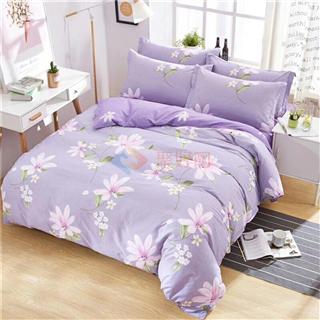 新款全棉4件套田园风纯棉被套床单床上床上用品100%全棉