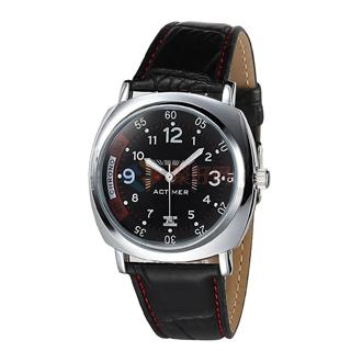 【聚好专供】时光爱客帅气男式皮带男表品牌手表 时尚运动手表