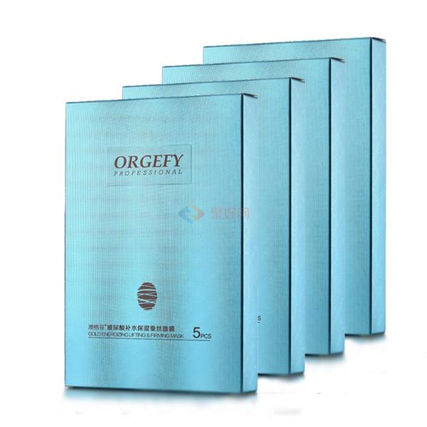 澳格菲玻尿酸蚕丝面膜25g*5片*4盒
