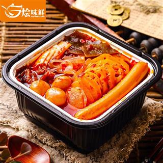 【买二送一】速食蔬菜加肠加蛋自热小火锅420g*3