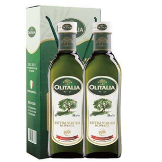 OLITALIA/ 奥尼 橄榄油初榨500ml两瓶礼盒装