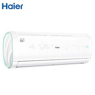 海尔(Haier)悦+ 小1.5匹定频 壁挂式空调挂机 急速冷暖 自清洁 智能空调KFR-32GW/16GAB13U1