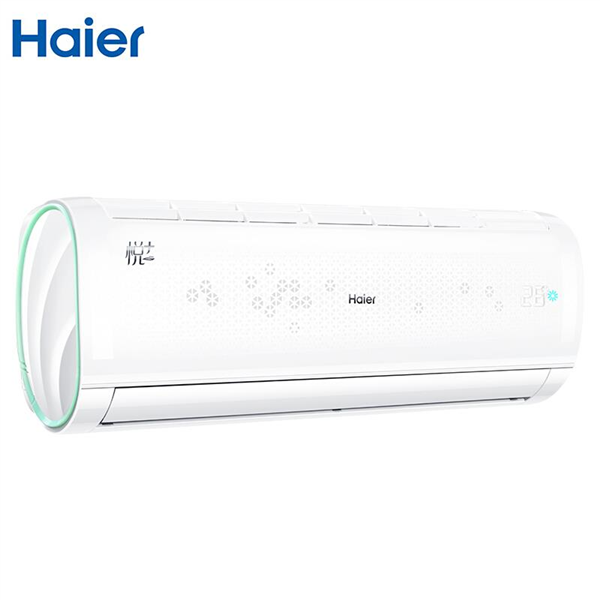 【限时优惠】 海尔(Haier)悦+ 小1.5匹定频 壁挂式空调挂机 急速冷暖 自清洁 智能空调KFR-32GW/16GAB13U1