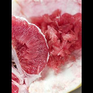 福建蜜柚  柚子  三红柚(9.8-10斤装/4个) 现货包邮     超硬纸箱