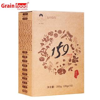 【厂家直销】 五谷食尚 159全素谷物代餐粉 350g/盒 10包装  39.9元/盒  包邮