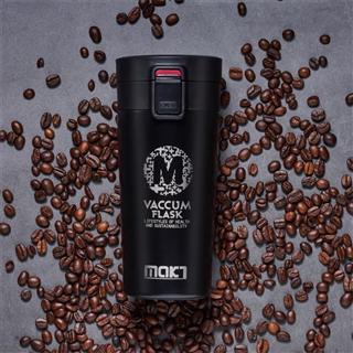 时尚便捷咖啡杯不锈钢便携车载杯子水杯 380ML