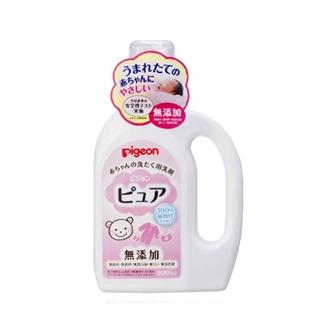 日本贝亲Pigeon婴儿宝宝无添加温和洗衣液800ml