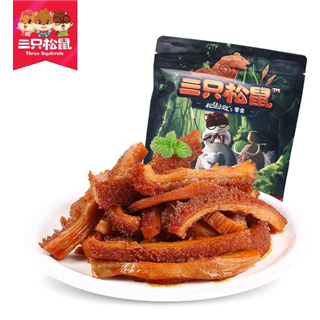 三只松鼠孜香牛肚120g休闲零食小吃麻辣卤味牛肉类熟食