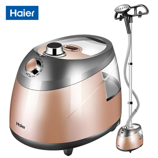 【限时优惠】 海尔(Haier)挂烫机 2.5L 单杆10档 家用手持/挂式电熨斗HGS-2510