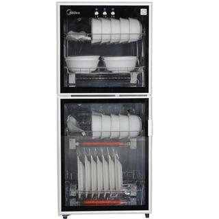 美的(Midea) 二星级 100系列独立双模立式消毒柜/碗柜100LG301