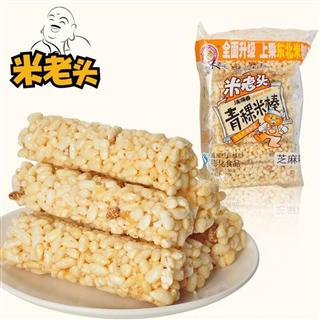 【米老头150g*4袋青稞麦棒/米棒】 休闲零食品