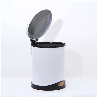 欧式智能感应垃圾桶家用卫生间客厅感应垃圾桶可充电带盖垃圾桶