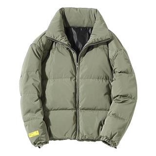 【日系男装半高领冬装羽绒服】加厚保暖外套