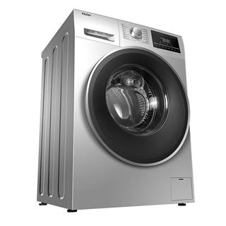 【限时优惠】 海尔(Haier)滚筒洗衣机全自动 食用级巴氏杀菌 AMT抗菌 ABT双喷淋10公斤变频 XQG100-12B30SU1JD