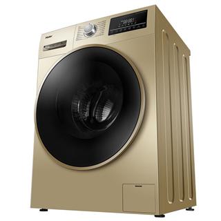 【限时优惠】 海尔(Haier)滚筒洗衣机全自动 高温蒸汽除螨 10KG纤维级防皱洗烘一体变频XQG100-14HB30GU1JD