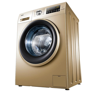 【限时优惠】 海尔(Haier) 滚筒洗衣机全自动 10公斤变频 99%防霉抗菌窗垫EG10014B39GU1